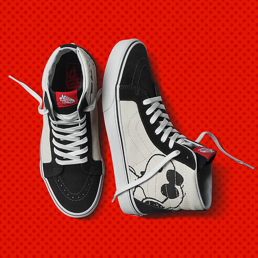 Vans x Peanuts — kotníkové boty Sk8-Hi Reissue — Snoopy