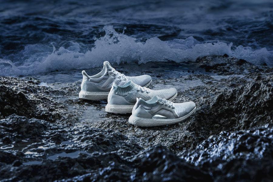 adidas Parley — UltraBOOST X Parley — UltraBOOST Uncaged Parley — UltraBOOST Parley — běžecké boty — recyklované — světle modré