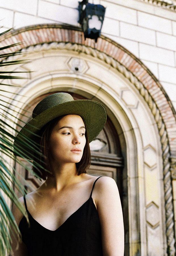 Paris+Hendzel — slaměný klobouk panama — dámský — letní — tmavě zelený