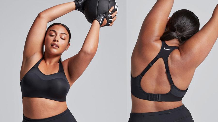 Nike Alpha Bra — sportovní podprsenka — černá — elastická