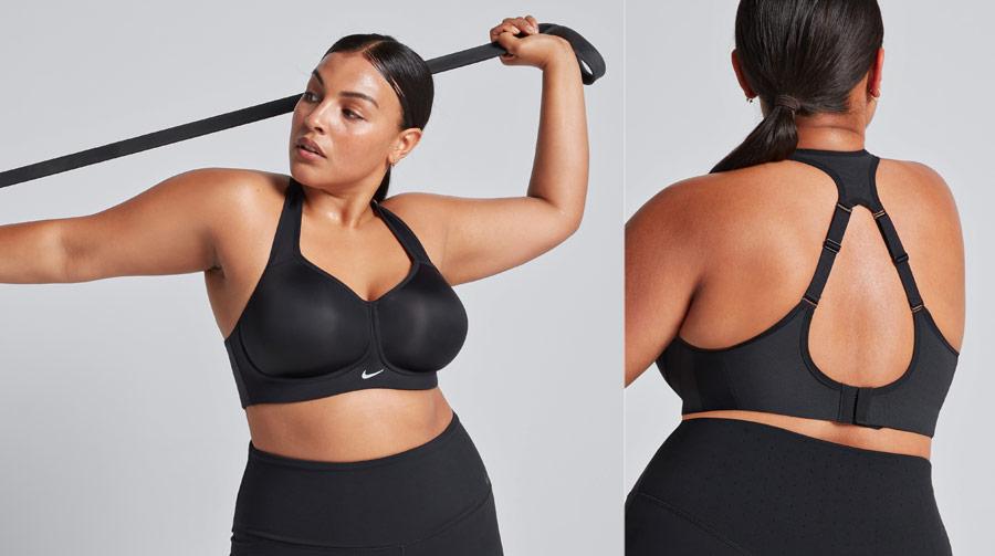 Nike Rival Bra — sportovní podprsenka — černá — elastická