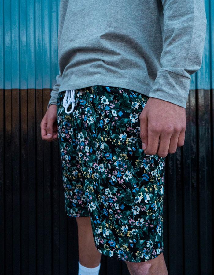 Hurthado Clo' — květinové šortky — pánské
