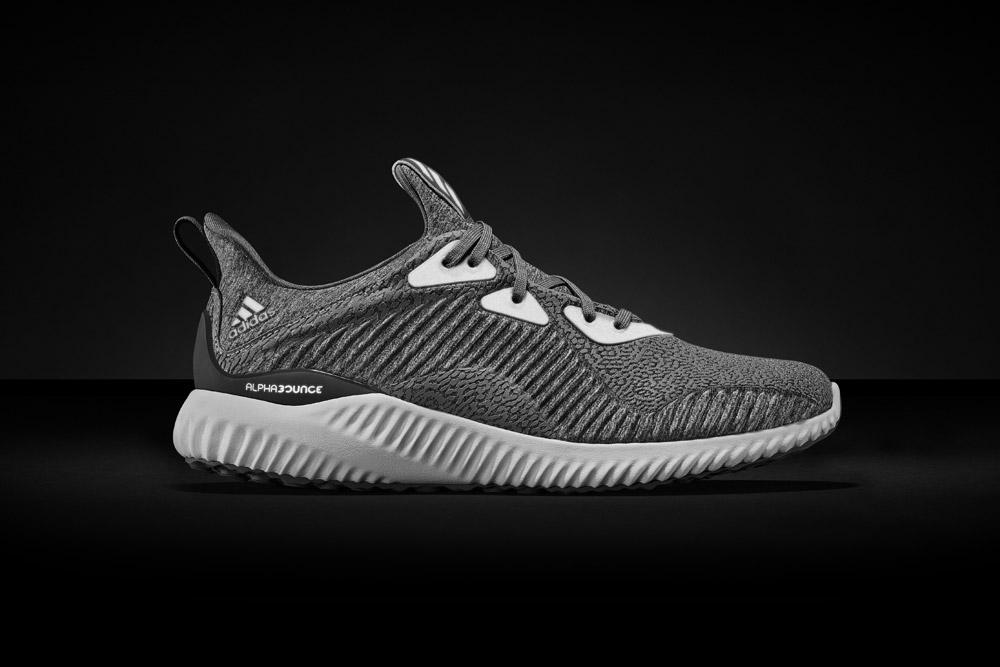 adidas alphabounce Reflective Silver — běžecké boty — reflexní tenisky — sneakers — running shoes — pánské, dámské — šedé