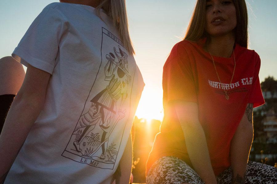 Hurthado Clo' — trička s potiskem