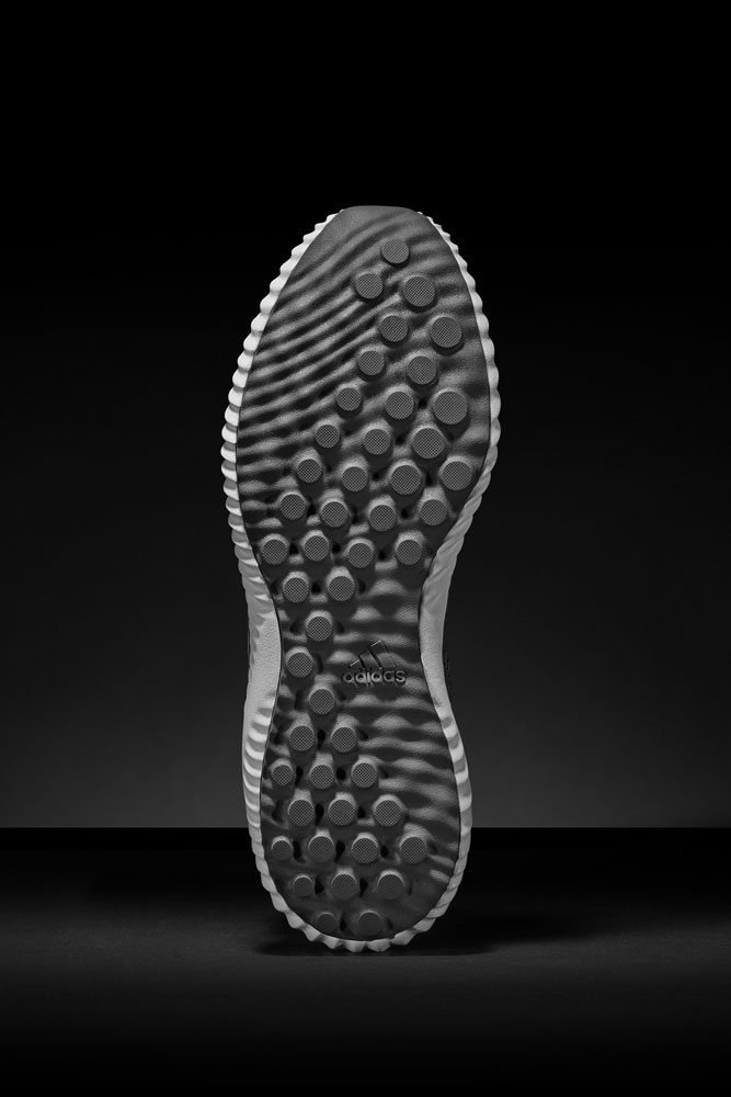 adidas alphabounce Reflective Silver — podrážka