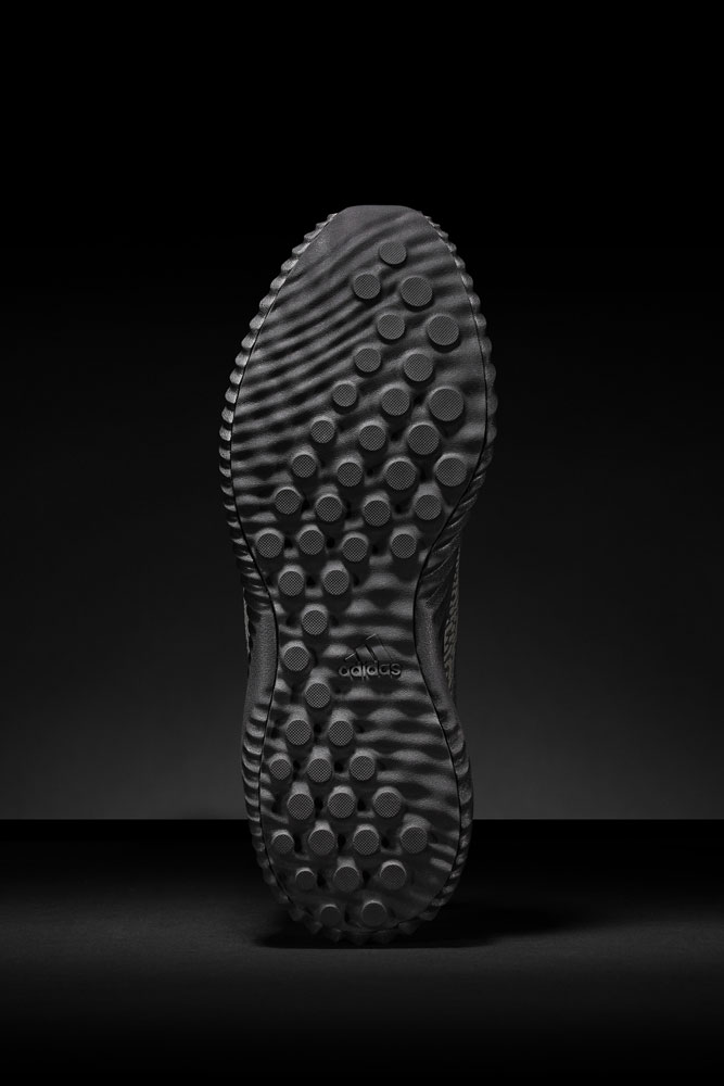 adidas alphabounce Reflective Black — podrážka