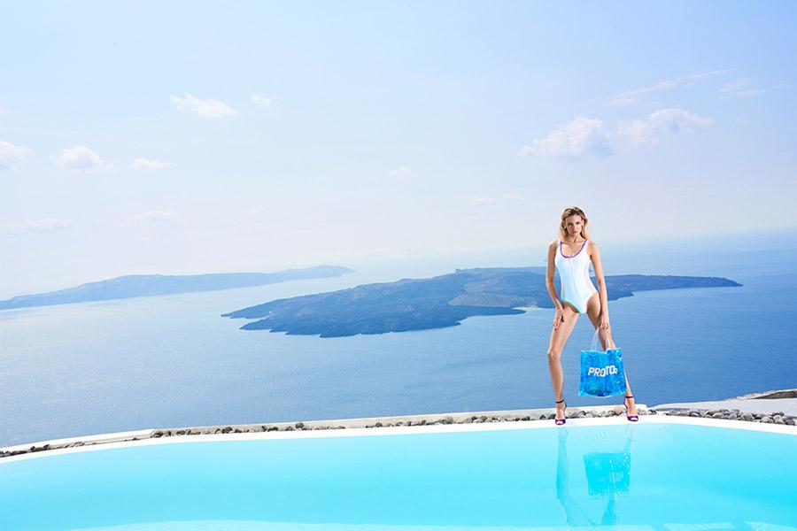 Prosto — jednodílné plavky na zip — dámské — lookbook jaro/léto 2017