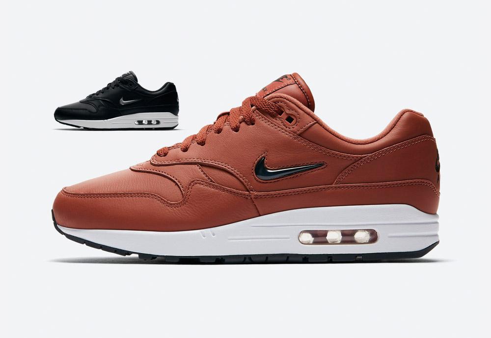 Nike Air Max 1 Premium SC — pánské — hnědé (brown), černé (black)