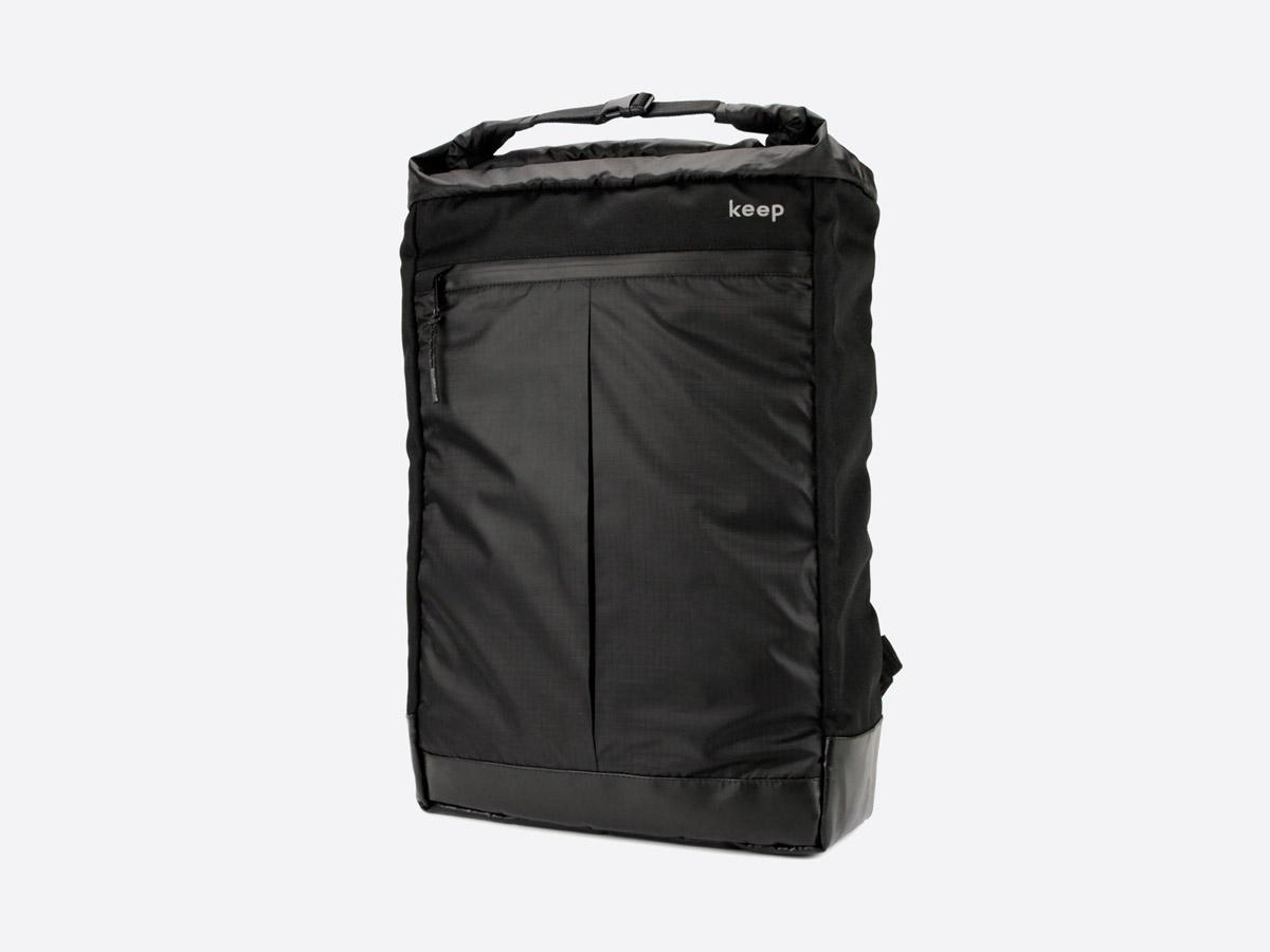 We Are Able — Neustadt Black — batoh — nepromokavý — černý — městský, školní, outdoor — dámský, pánský