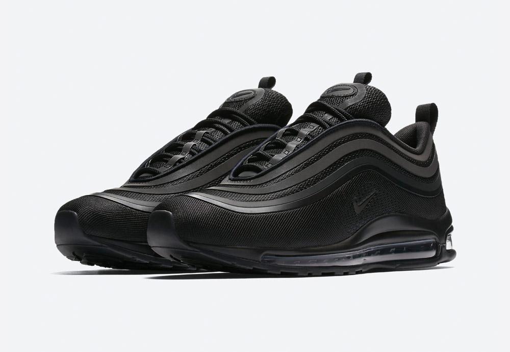 Nike Air Max 97 Ultra '17 — boty — tenisky — sneakers — pánské — černé