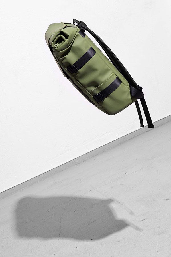 Ucon Acrobatics — olivově zelený batoh — Brandon Backpack — nepromokavý — série Lotus