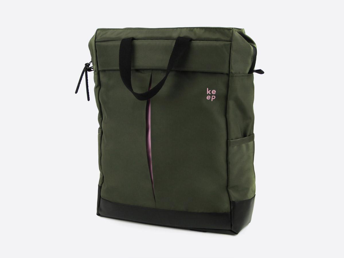 We Are Able — Kreuzberg Olive — batoh — nepromokavý — olivově zelený — městský, školní, outdoor — pánský, dámský