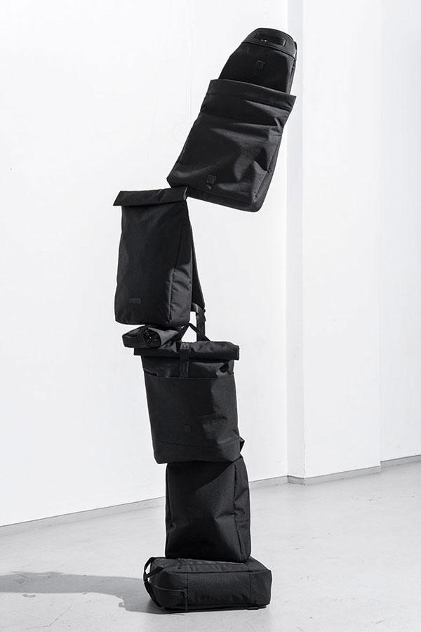 Ucon Acrobatics — černé batohy recyklované z PET lahví — nepromokavé — série Stealth