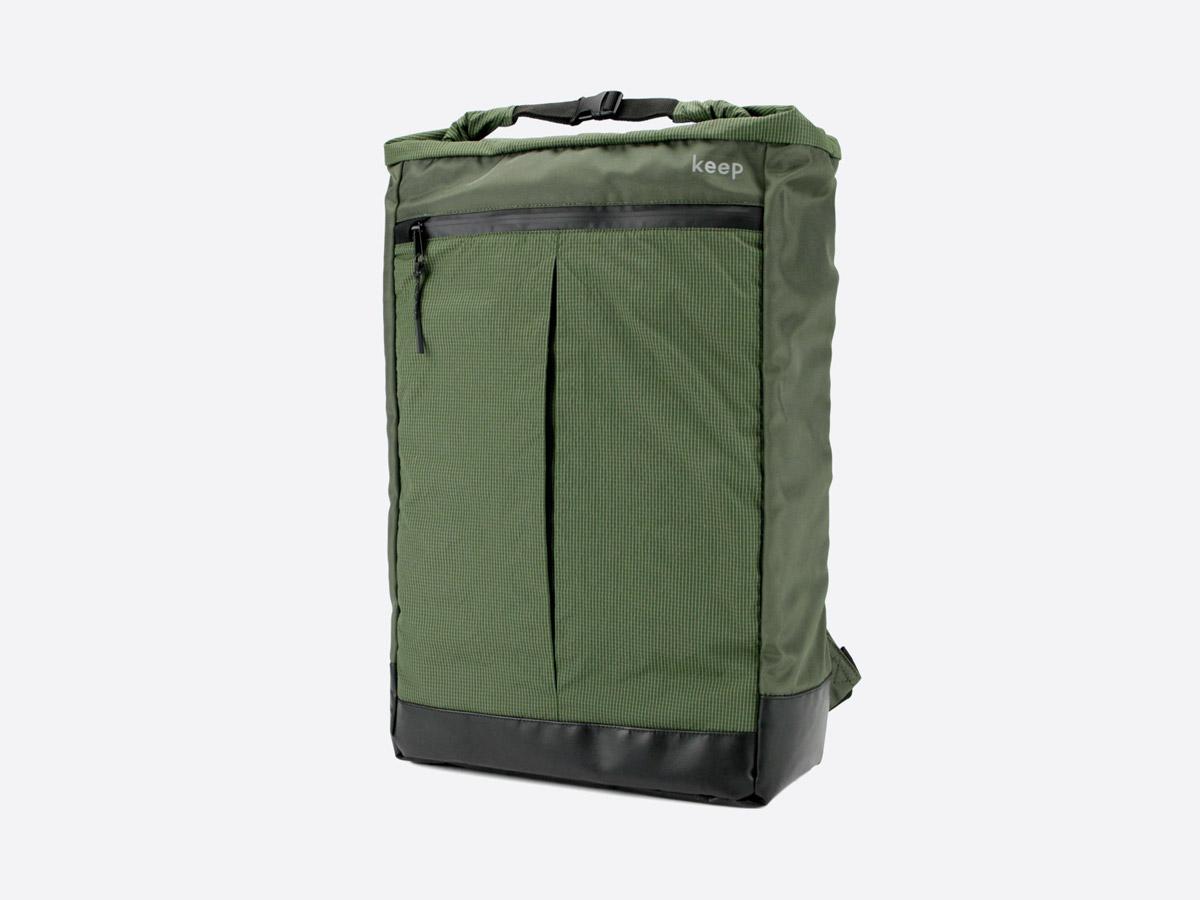 We Are Able — Neustadt Olive — batoh — nepromokavý — zelený, olivový — městský, školní, outdoor — dámský, pánský