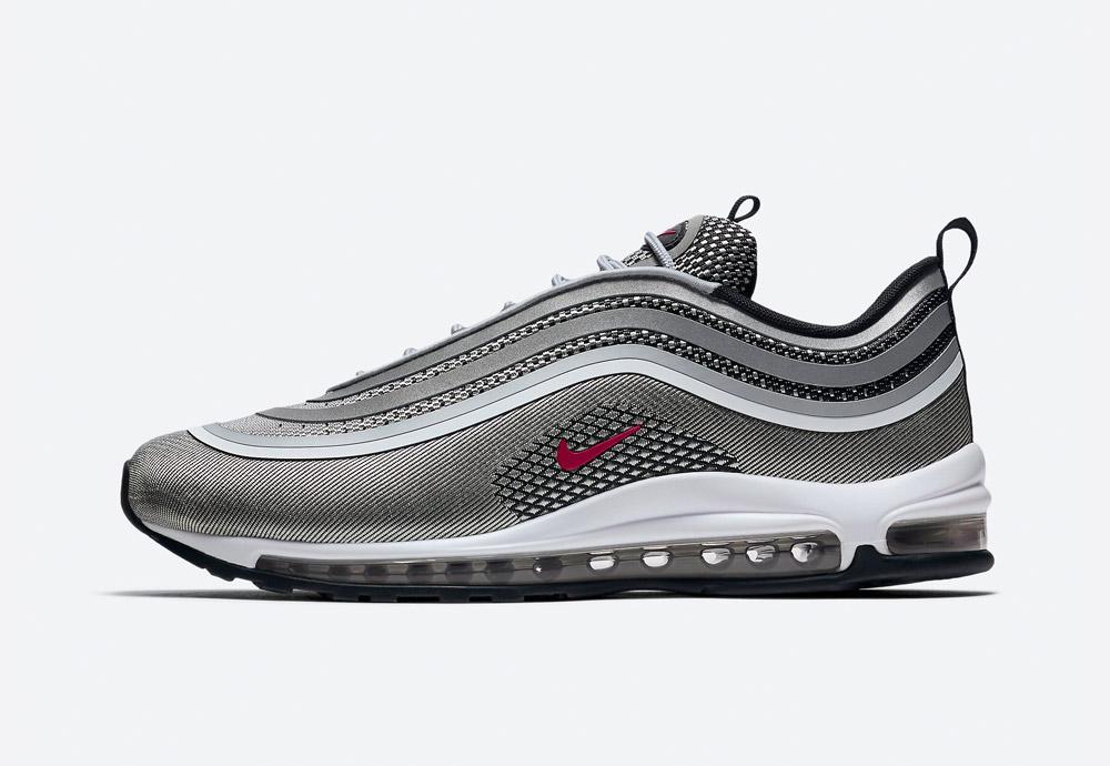 Nike Air Max 97 Ultra '17 — boty — tenisky — sneakers — pánské — šedé
