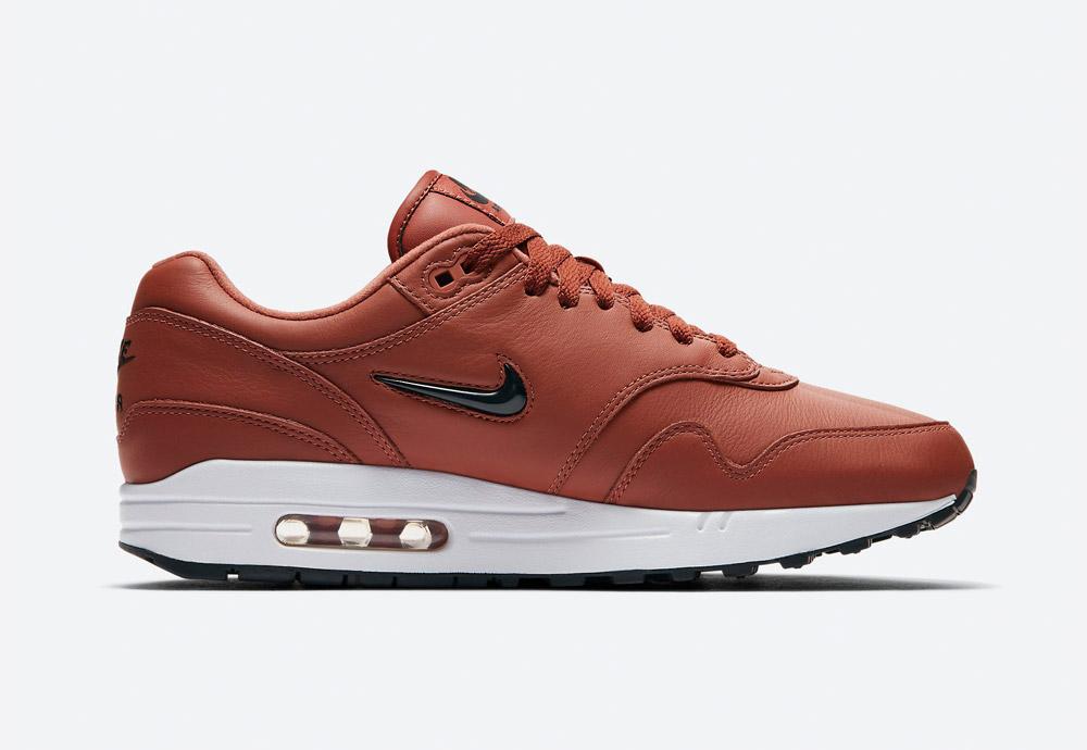 Nike Air Max 1 Premium SC — pánské boty — tenisky — sneakers — hnědé (brown)