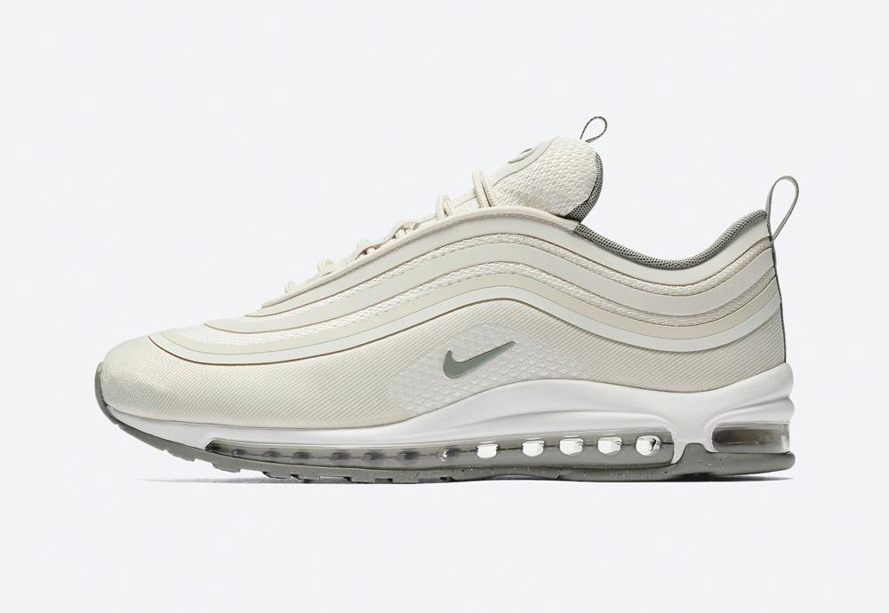 Nike Air Max 97 Ultra '17 — boty — tenisky — sneakers — pánské — krémová, světle hnědá