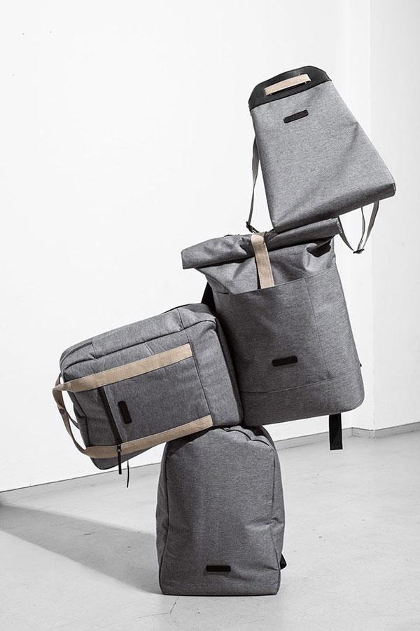 Ucon Acrobatics — šedé batohy recyklované z PET lahví — nepromokavé — série Slate