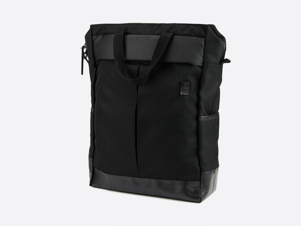 We Are Able — Kreuzberg Black — batoh — nepromokavý — černý — městský, školní, outdoor — pánský, dámský