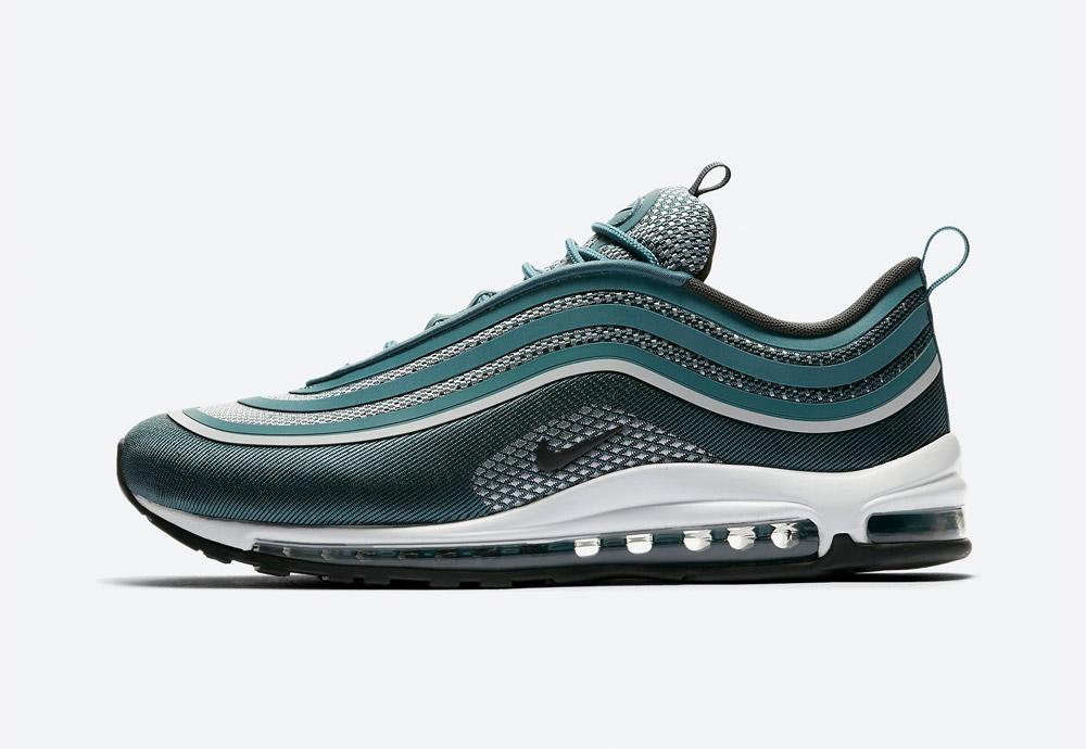 Nike Air Max 97 Ultra '17 — boty — tenisky — sneakers — pánské — zelené