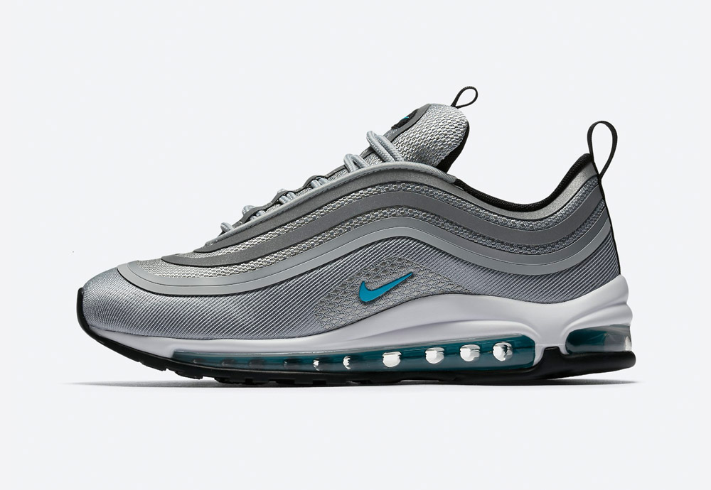 Nike Air Max 97 Ultra '17 — boty — tenisky — sneakers — dámské — šedé
