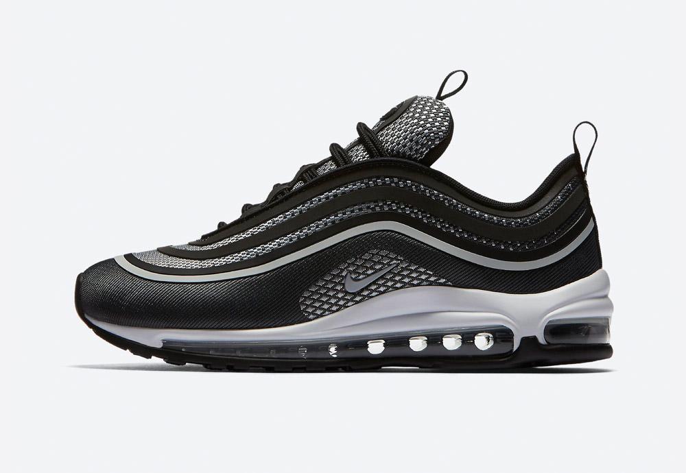 Nike Air Max 97 Ultra '17 — boty — tenisky — sneakers — dámské — černé, antracitové