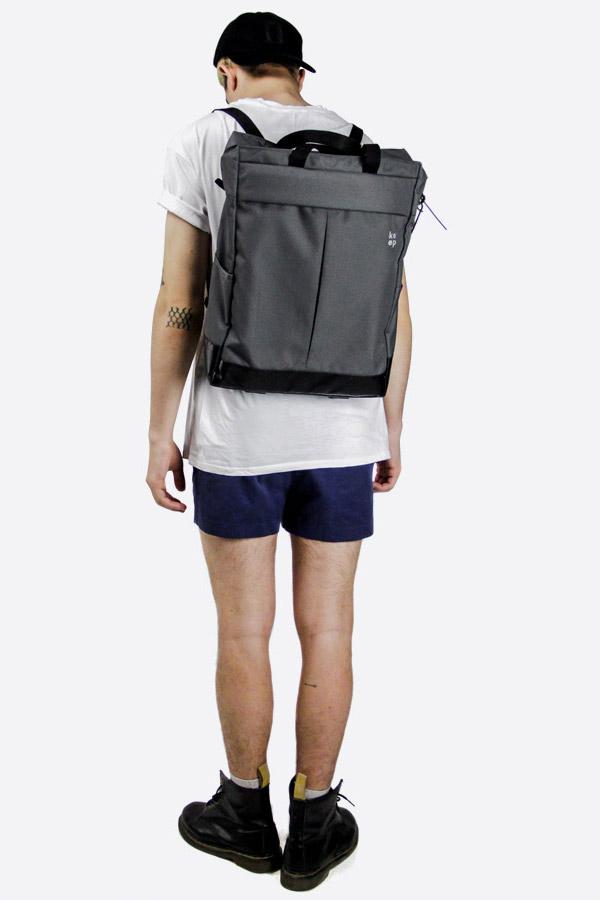 We Are Able — Kreuzberg Grey — batoh — nepromokavý — tmavě šedý — městský, školní, outdoor — pánský, dámský