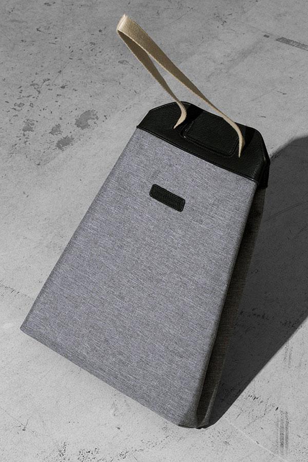 Ucon Acrobatics — šedý batoh z PET lahví — Calina Backpack — nepromokavý — série Slate