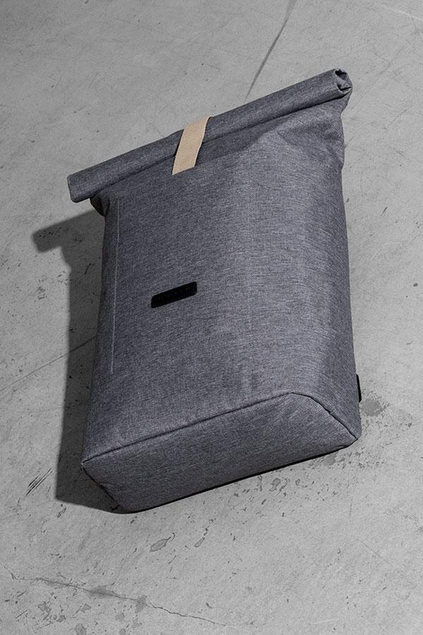 Ucon Acrobatics — šedý batoh z recyklovaných PET lahví — Hajo Backpack — nepromokavý — série Slate