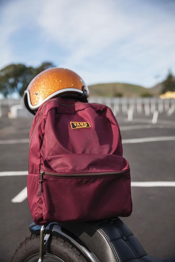 Vans Boom Boom Collection — vínový batoh
