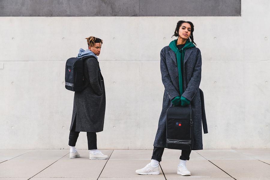 Pinqponq — Cubik Backpacks — batohy — černé (black) — recyklované z PET — sustainable