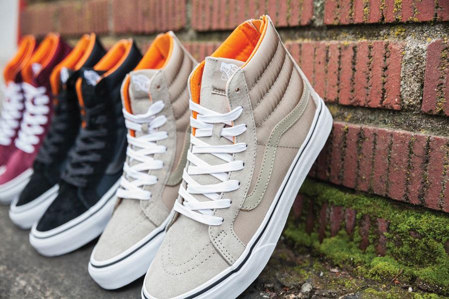 Vans Boom Boom Collection — dámské boty — Old Skool — béžové — tenisky — sneakers