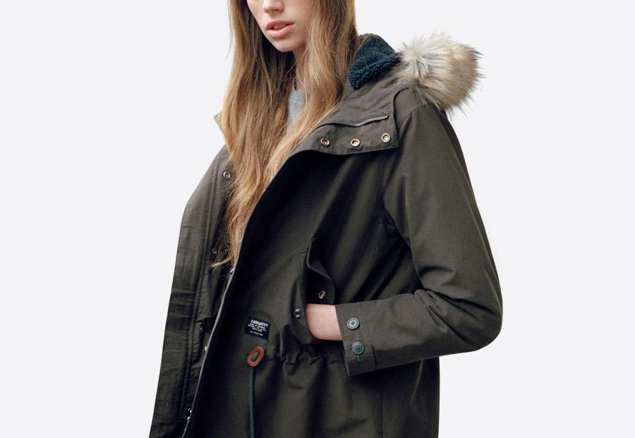 Carhartt WIP — dámské oblečení — podzim/zima 2017