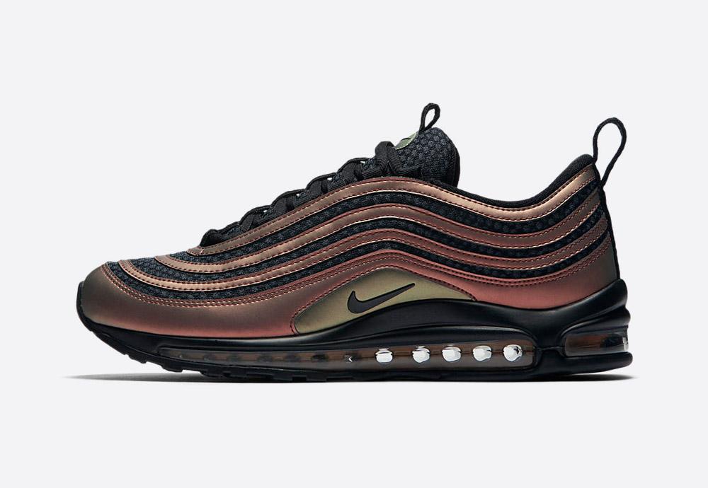 Nike Air Max 97 Ultra Skepta — boty — metalické tenisky — sneakers — perleťové