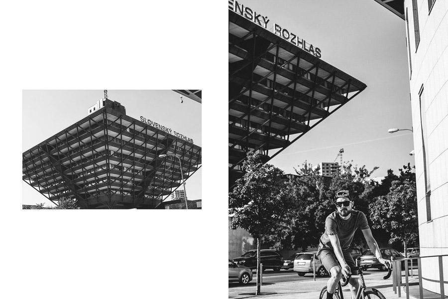 Isadore Apparel — cyklistické tričko — cyklistické kraťasy — oblečení pro městskou cyklistiku — urban cycling apparel — shorts, tshirt