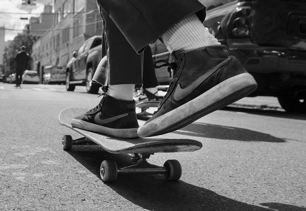 Dámské kotníkové skate boty Nike SB Bruin High dc8f59a32d