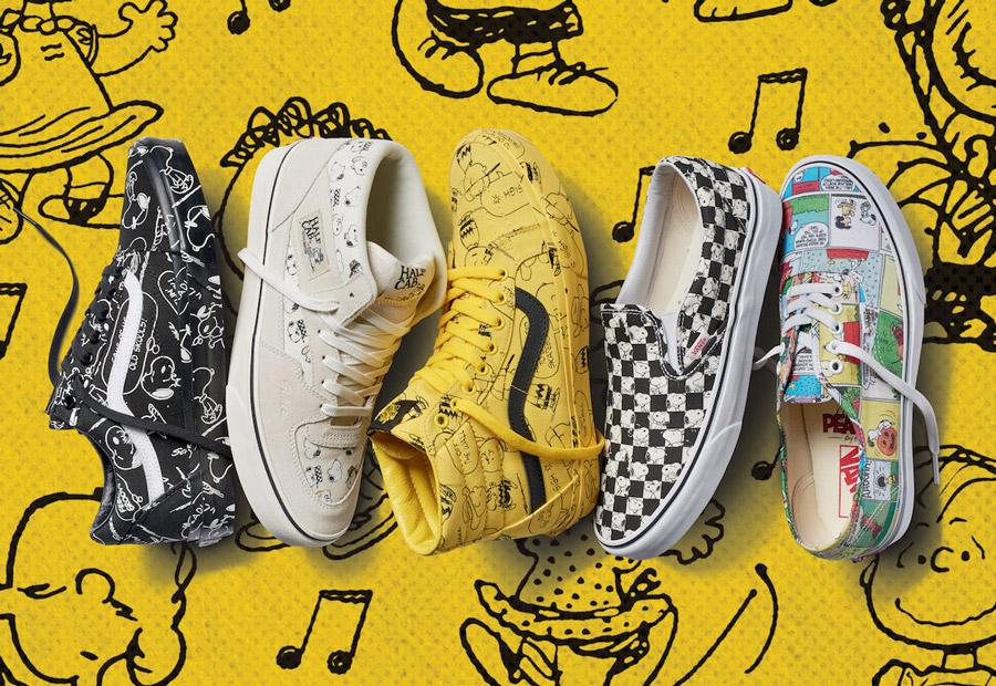 Vans x Peanuts — boty a oblečení