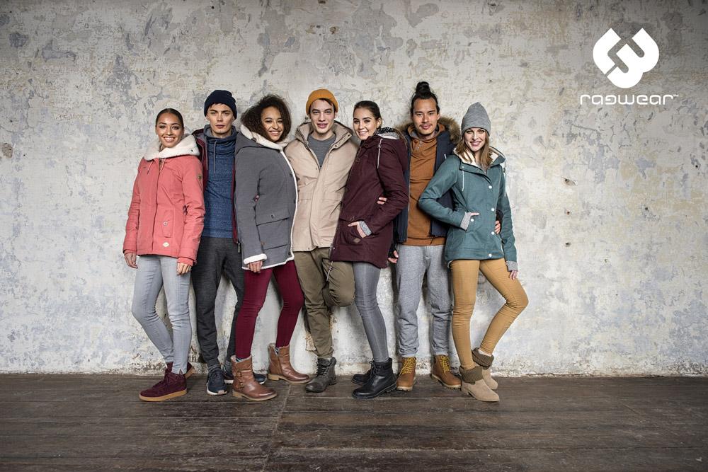 Ragwear — zimní bundy s kapucí — parky — dámské — pánské — women's and men's winter jakckets — podzim/zima 2017