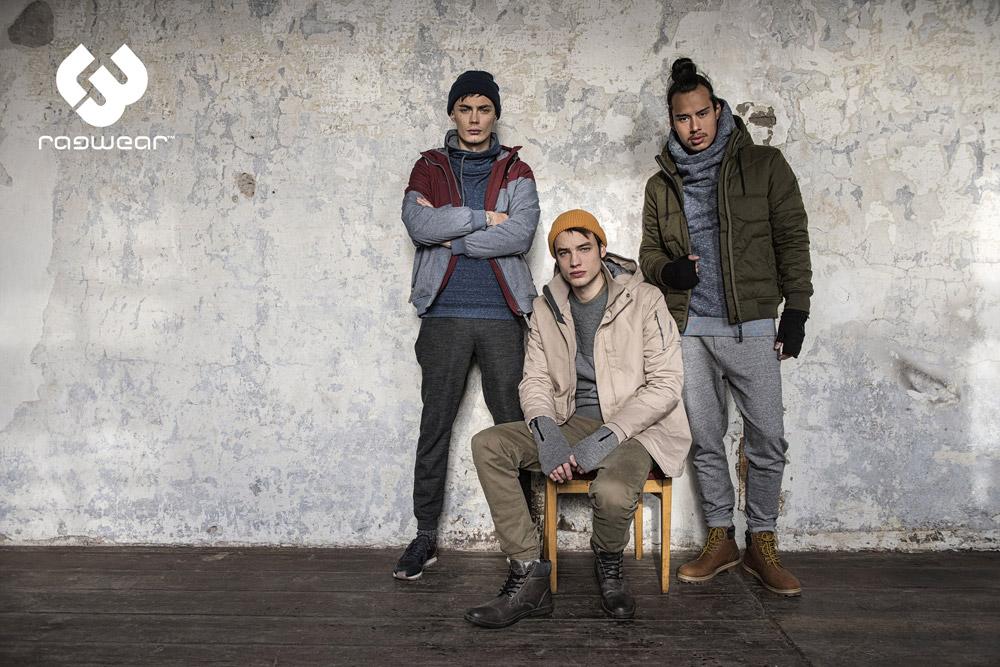 Ragwear — pánské zimní bundy s kapucí — mikiny s kapucí — men's winter jakckets and sweatshirts — podzim/zima 2017