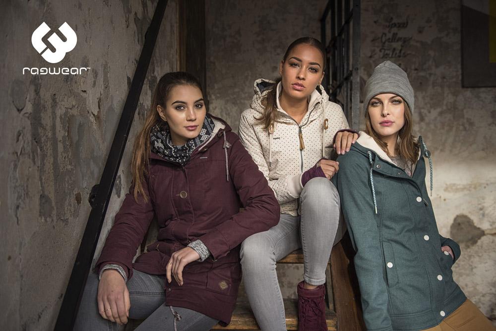 Ragwear — dámské zimní bundy s kapucí — podzimní bundy s kapucí — parky — women's winter jakckets — podzim/zima 2017