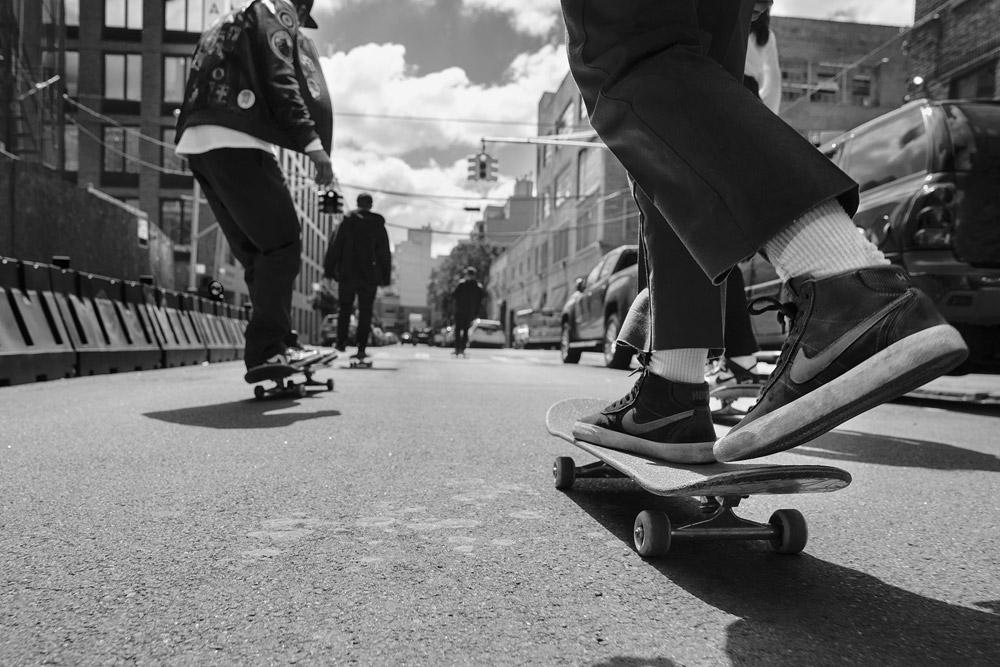 Nike SB Bruin High Womens — skate boty — dámské — kotníkové tenisky — skejt — sneakers — černé