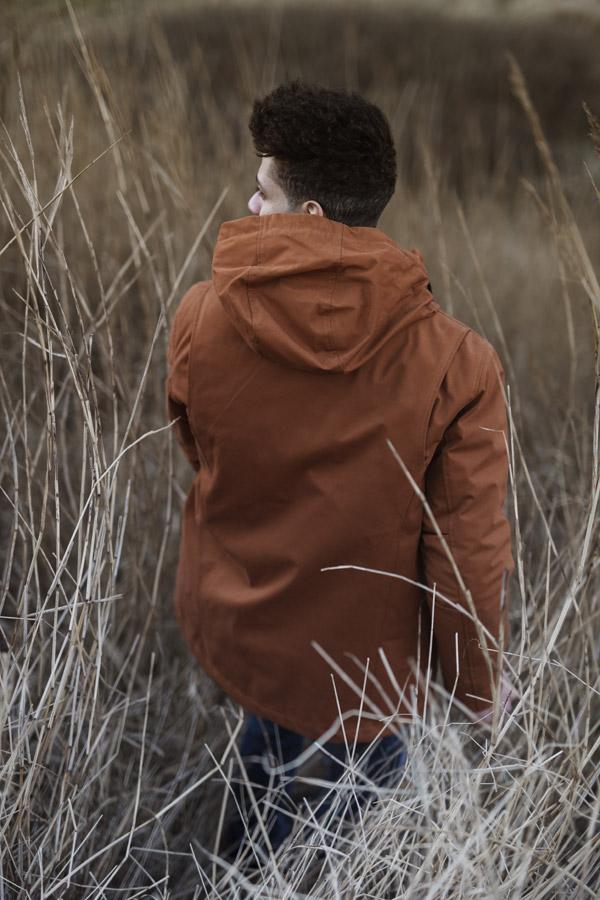 RVLT — zimní bunda — pánská — hnědo-oranžová — men's fall/winter jacket brown-orange — Revolution