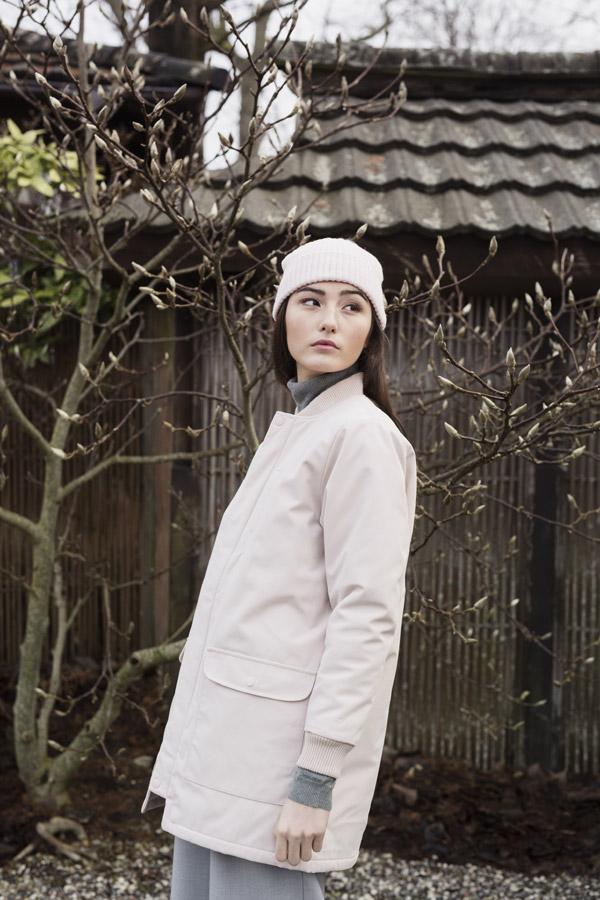 Selfhood — dámská zimní bunda — světle růžová — women's light pink winter jacket