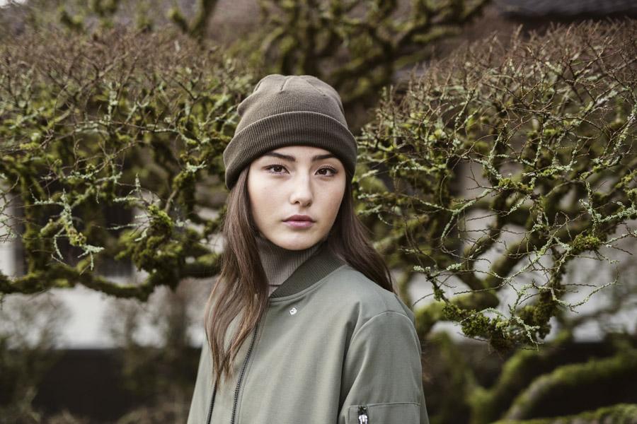 Selfhood — dámský olivově zelený bomber — bunda do pasu — women's olive green bomber jacket