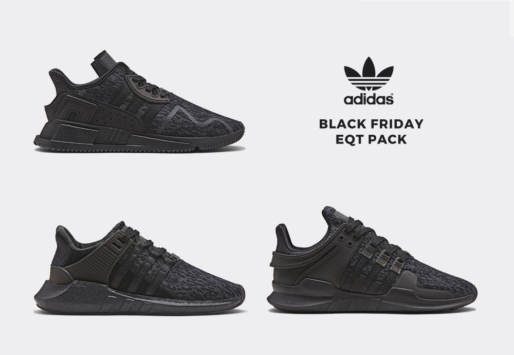 adidas Originals Black Friday EQT Pack 9ff1ad077bb