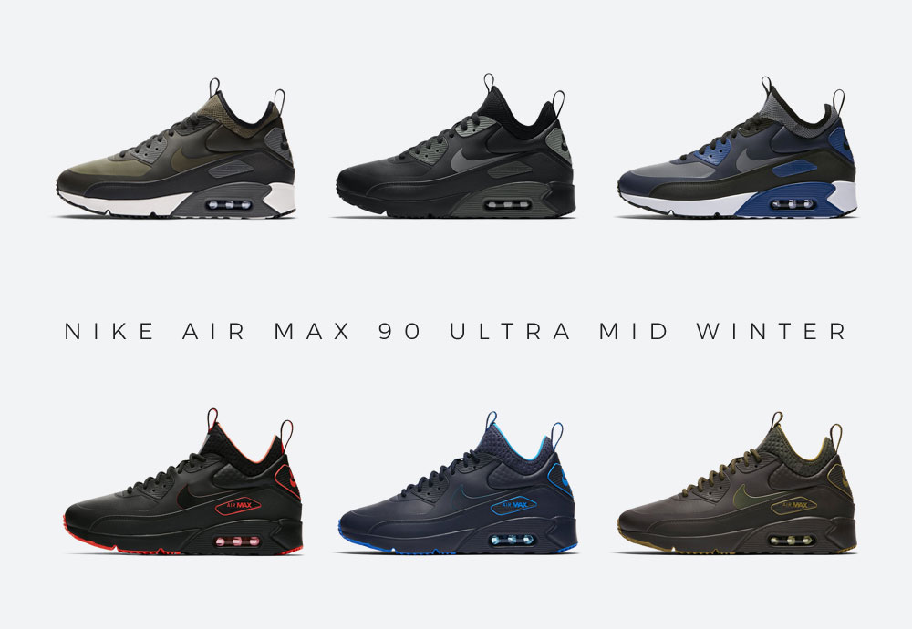 Nike Air Max 90 Ultra Mid Winter — pánské zimní kotníkové airmaxy