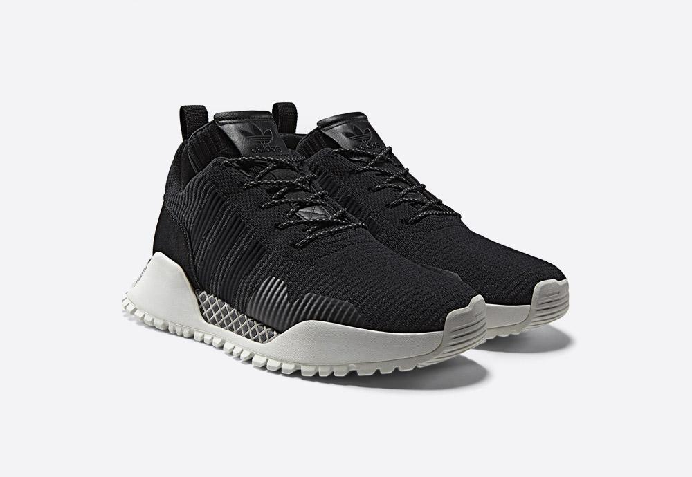 adidas Originals AF 1.4 PK — černé zimní boty — nízké tenisky — voděodolné — Primeknit — black men's and women's winter sneakers — Atric Pack