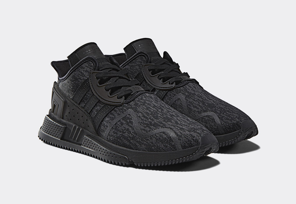 adidas Originals Black Friday EQT Pack — EQT Cushion ADV — pánské boty — černé — tenisky — sneakers