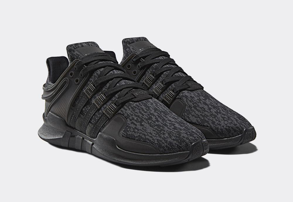 adidas Originals Black Friday EQT Pack — EQT Support ADV — pánské boty — černé — tenisky — sneakers
