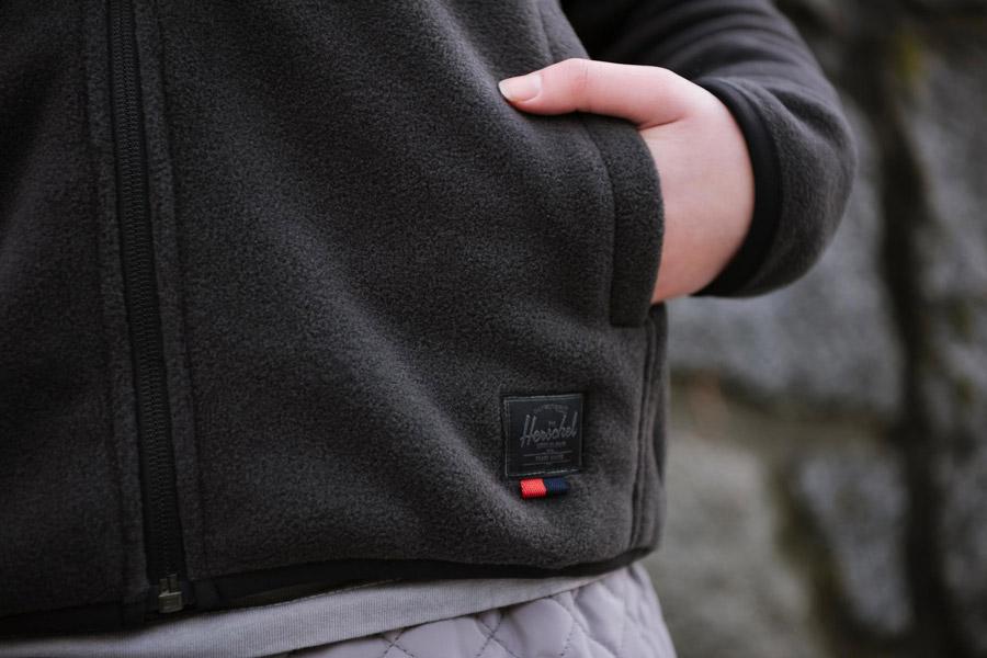 Herschel Supply Fleece — fleecové bundy — pánské, dámské